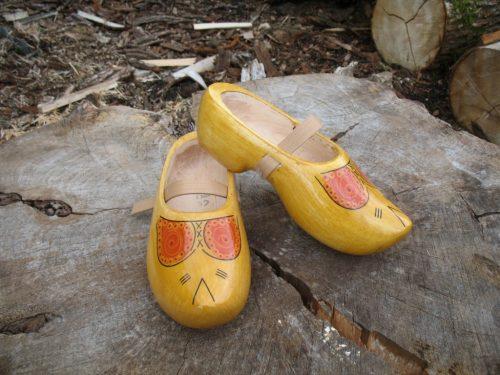 Tripklompen-geel